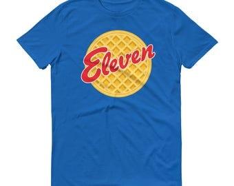 Eleven Eggo - Unisex T-Shirt - Fan Art, Eggos, Kelloggs, Netflix, Waffles