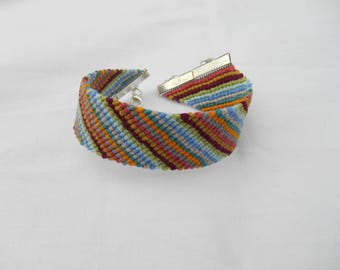 large and colorful Friendship Bracelet