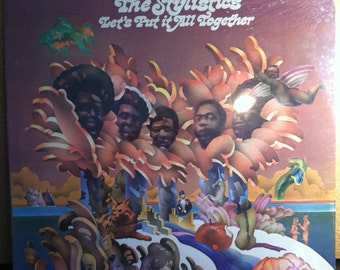 The Stylistics Let's Put It All Together Sealed Vinyl Soul Record Album