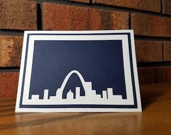 St Louis Skyline Card