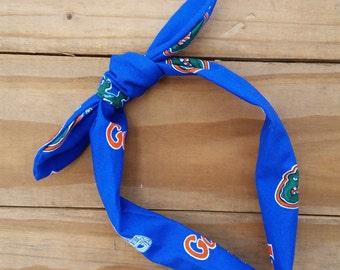 Florida Gators Knotted Headband
