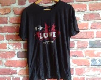 The Beatles Band Vintage Shirt - The Beatles Love Art Shirt - The Beatles Band Shirt For Men and Women