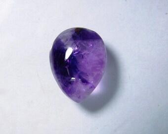 Beautiful- Natural Amethyst cabochon, Purple Amethyst gemstone, Amethyst loose gemstone, Amethyst loose stone 14 Cts. R-2502