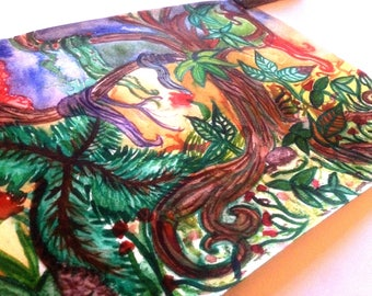 Jungle Dreaming, Original Watercolour.