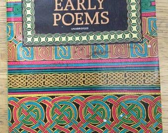 Early Poems , William Butler Yeats , 1993 , Irish Poet , Irish Poetry