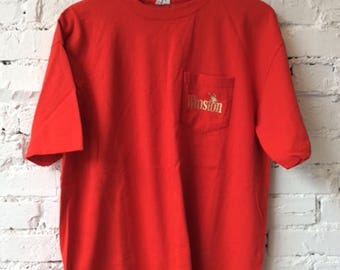 Vintage Winston T-shirt / Size XL / 90s 1990s / Made in USA / Nascar Winston Cup / Cigarettes / Tobacco / Retro / Hype