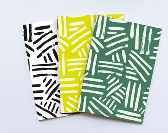 Notebooks - A5 pack of 3 - Tolu