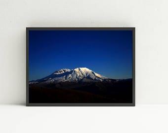Mount Saint Helens Art Print - Nature Wall Art - Art Print - Fine Art Photography - Landscape Printable Wall Art - Digital Art Download