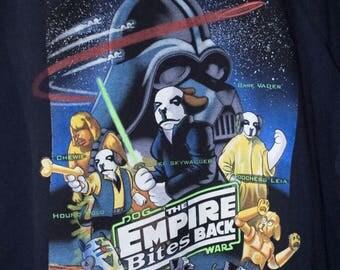 1996 BIG DOGS star wars shirt - vintage 90s