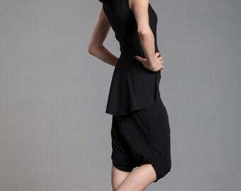 Harem Pants Black/ Classic Harem Pant in Black/ Casual Comfy Pants/ Eco Fashion / Drop Crotch/Baggy Pants/Eco Friendly Yoga Pants