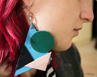 Earrings Kandinsky