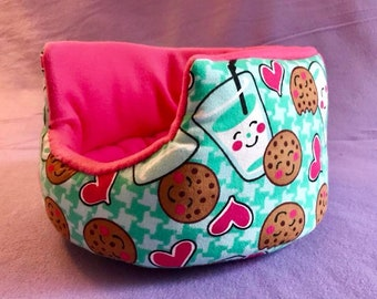 Made to Order Cookies & Milk Cuddle Cup!! For Guinea Pigs, Hedgehogs, Rats, Ferrets, Small Animals!