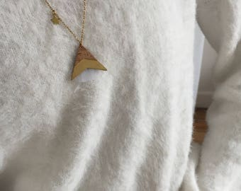 Necklace-necklace-PELIPA-Bohemian-leather Cork rule