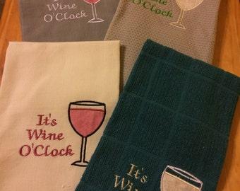Wine Tea Towels