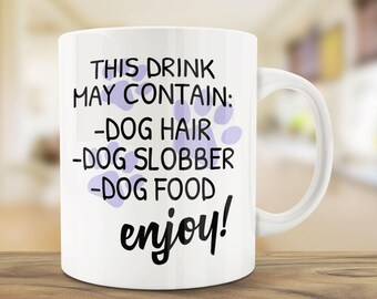 Funny Dog Owner Gift | Dog Owner Mug | Ceramic Mug | Dog Owner Humour | Dog Quote Mug | Funny Pet Coffee Mug | Unique Pet Lover Mug