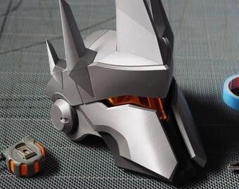 Reinhardt's Helmet 3D Printed