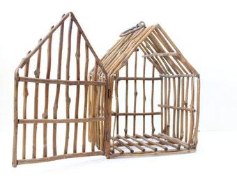 Vintage Bird House | Wedding Card Box | Wedding Card Holder | Birdcage | Wedding Decor | Boho Wedding | Wood Bird Cage | Nursery Decor