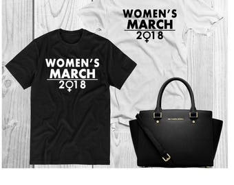 Women's March 2018 Shirt! March 2018! Feminist Shirts! Women's March! Womens March