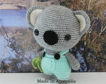 READY to SHIP - Handmade Crochet Australian Koala - Amigurumi - Stuffed Toy - Stuffed Animal - Plush - Made in Australia