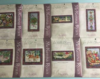 In Full Bloom By McKenna Ryan - Full Set of 8 Patterns