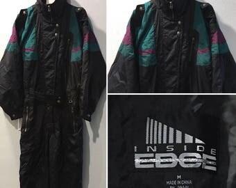 Inside Edge Vintage Ski Suit - Men's Size Medium