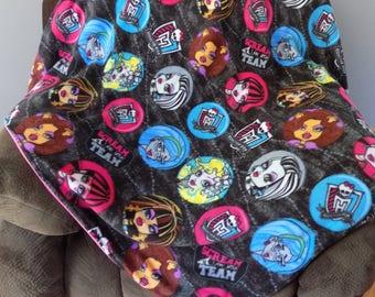 Monster High Blanket - Girls Fleece Blanket