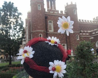 Mary Poppins-INSPIRED Pillbox Hat