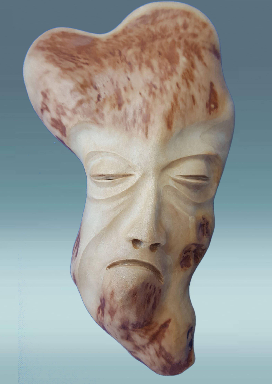 Handgeschnitzte Holzmaske Maske Holz Maske Maske