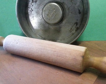 Vintage Wooden Rolling Pin