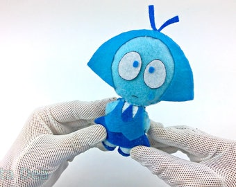Mini Teddy Aquamarine Steven Universe Plush Plushie 2 Double-sided face 2 in 1