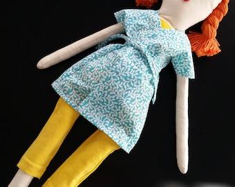 Rag Doll, cloth doll, heirloom doll, handmade doll