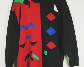 Vintage Pattern Pullover
