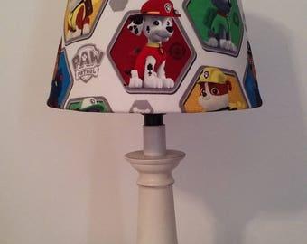 Paw Patrol Lamp, New Kids Lamp, Marshal
