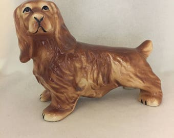 Standing Brown Spaniel Dog Figurine (#168)