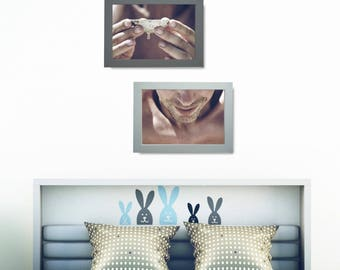 Photo Wall Art Set, Human Print Set, Man Portrait Poster Set, Man Portrait Photo Decor Set, Photo Posters Set, Bedroom Printable Wall Art