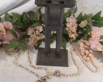 Candle Mold, Metal, with Front Center Handle