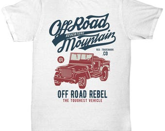 Off Road Adventure Mountain T-shirt