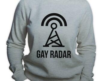 Gay Radar Sweatshirt LGBTQ Gay Pride Hoodie Gay Sweatshirt Gay Rights Hoodie Lesbian Pride Sweatshirt Gay Rights Hoodie Gay Radar Hoodie