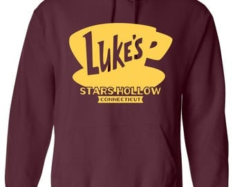 Gilmore Girls Shirt - Hoodie. Gilmore Girls Sweatshirt. Lukes Diner Shirt - Hoodie. Gilmore Girls Merch. Gilmore Girls Gifts. S - 3XL.