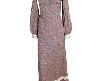 Cotton maxi dress nzz