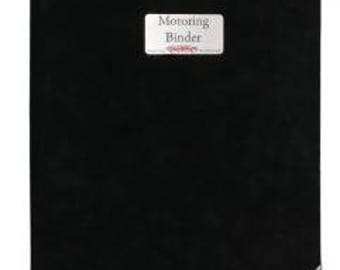Motoring Binder Suede