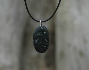 Irish Pebble Pendant Necklace