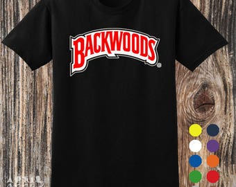 Inspired By Backwoods Logo T shirt Variant Colour Size S to 2XL