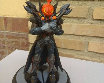 Reaper Overwatch printer 3d print by hand PLA FrikiprintES Heroe