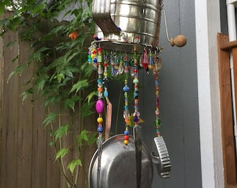 Flour Sifter Retro Wind Chime