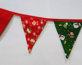 Gingerbread/Snowman Christmas Bunting for children and adults