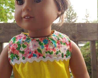 18 inch doll top 18 pouces doll top sleeveles