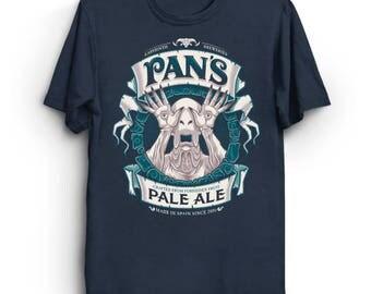 Pan's Pale Ale - Pan's Labyrinth T-Shirt | Beer Label T-Shirt