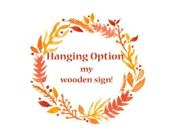 Hanging Options for Stahlli Woodworking Signs