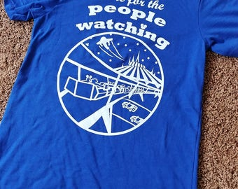 PREORDER (Ships Aug31) // People Watching // People Mover // Space Mountain // Disney Shirt // Disney Style // Tomorrowland // Disney Tee